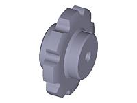 Soldada-Aço-Corrente-Rodas Dentadas