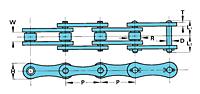 RS Passo Duplo Correntes De Transmissão-2