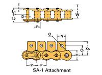 Corrente Transportadora Labda De Passo Simples Aditamento-SA-1
