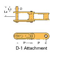 Corrente Transportadora Lambda De Passo Duplo Aditamento-D-1