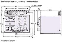 TSB151, TSB152 Shock Relay Para Proteção De Sobrecarga